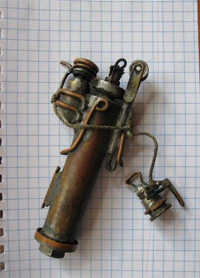 Стимпанк зажигалка (Фото 2)