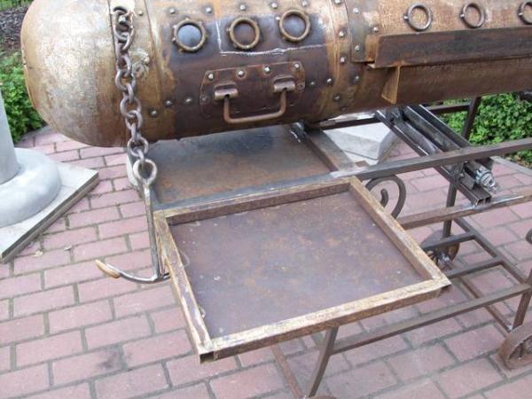Подводная лодка-мангал,коптильня (Фото 14)