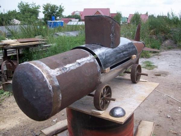 Подводная лодка-мангал,коптильня (Фото 6)