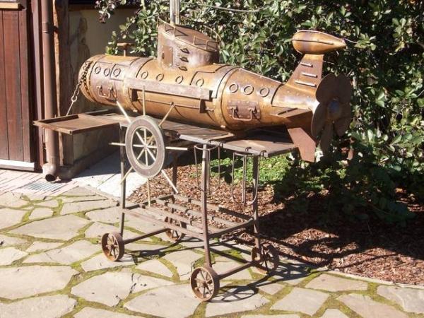 Подводная лодка-мангал,коптильня (Фото 18)