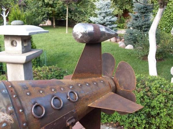 Подводная лодка-мангал,коптильня (Фото 10)