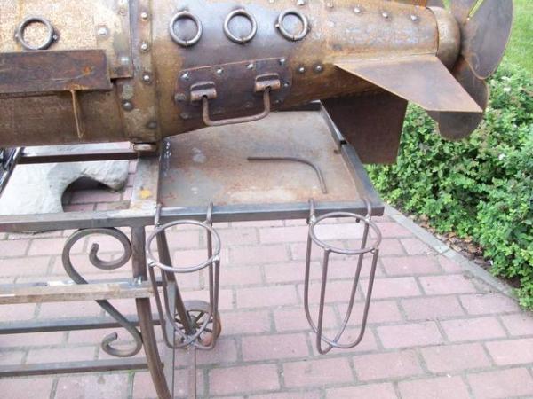 Подводная лодка-мангал,коптильня (Фото 15)