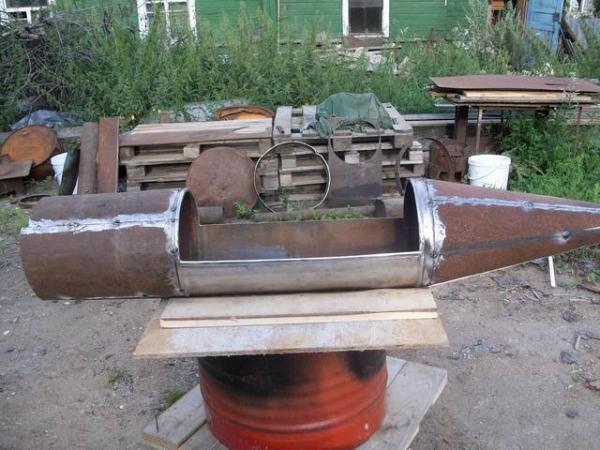 Подводная лодка-мангал,коптильня (Фото 2)