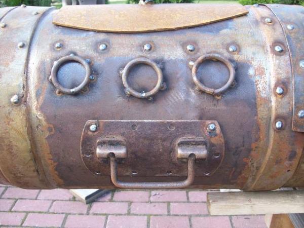 Подводная лодка-мангал,коптильня (Фото 11)