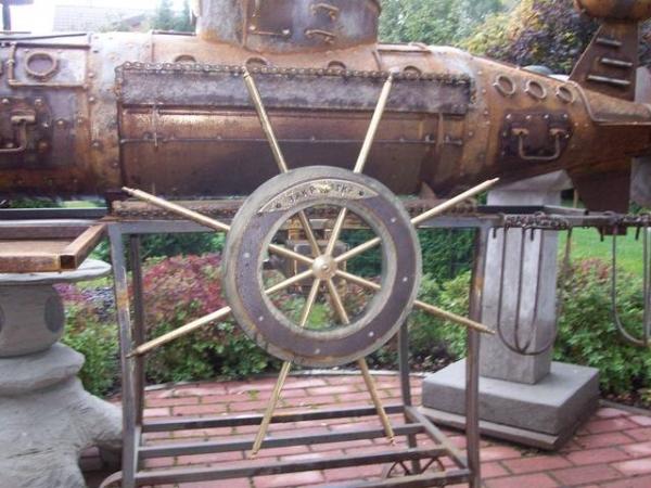 Подводная лодка-мангал,коптильня (Фото 20)