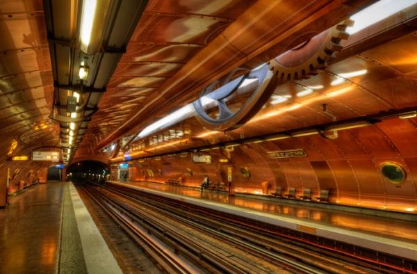 Станция метро Arts et Métiers