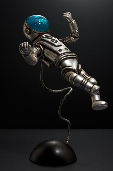 Поздравляю всех с днём космонавтики! Работы скульптора Рика Аллена (Rik Allen)