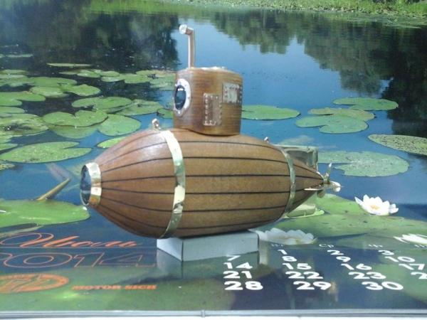 Глубоководный плавательный аппарат