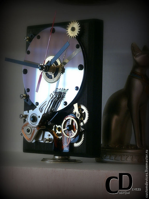Часы Жесткое время 3,5 inch 2000 рублей.