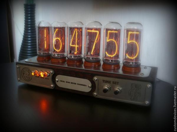 Часы ламповые Fallout ИН-18