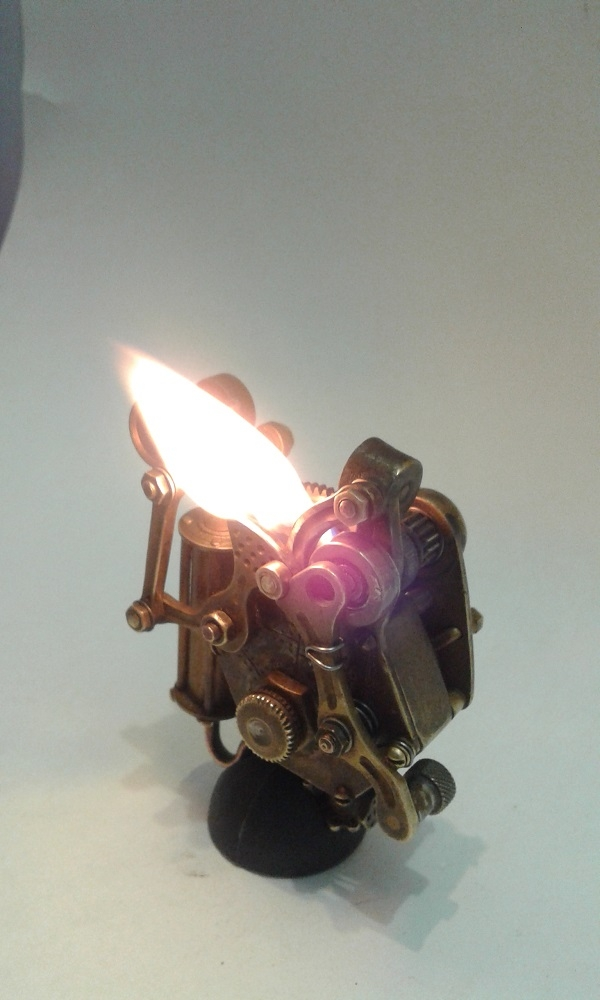 Зажигалка гайка (автомат).