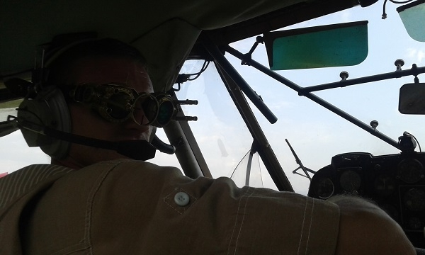 Гоглы стрелка-наводчика дирижабля.