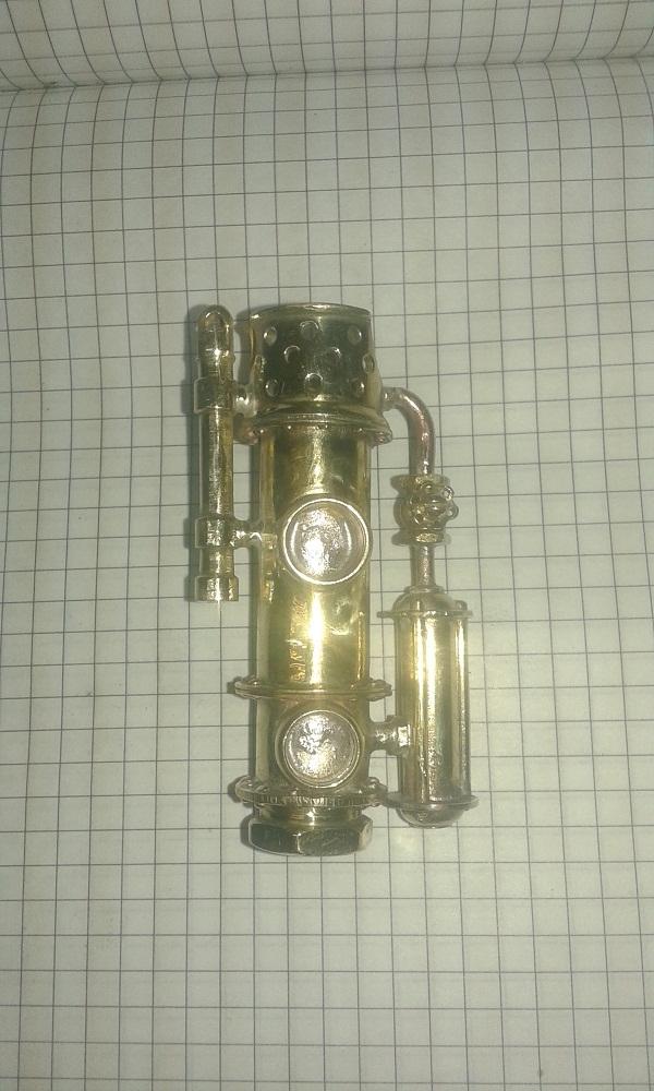 Зажигалка с гидроцилиндрами. (не много сборки).