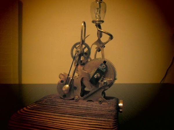 Night lamp (вторая жизнь часов часть II)