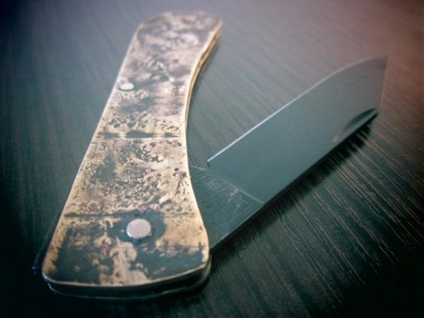 Со мною нож, решил я: - Что ж, меня так просто не возьмешь. (В. Высоцкий)