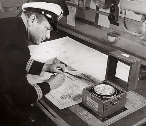 Хронометр морской Glashutte Germany механический...