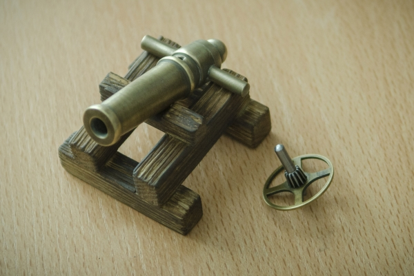 Пушка для проекта.