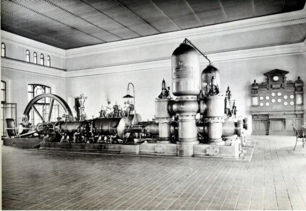 Водоподъемные машины алексеевской насосной
