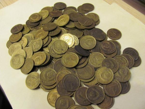 Расходники для творчества -монеты.