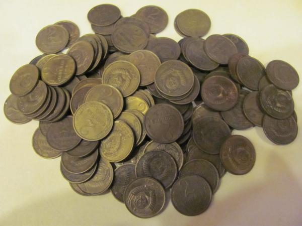 Расходники для творчества -монеты.Лот 2