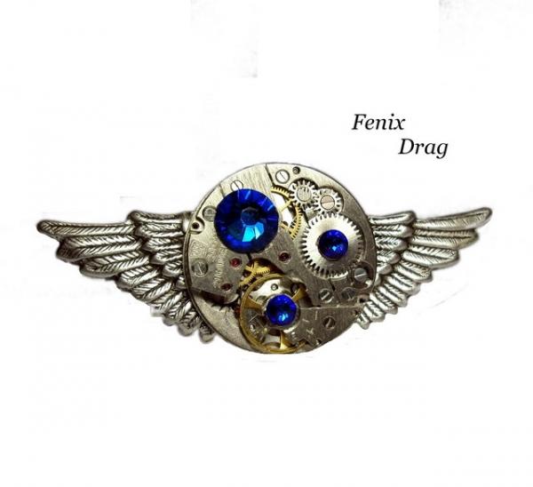 Перстень / кольцо в покрытии серебром ( посеребрение ) стимпанк /  steampunk