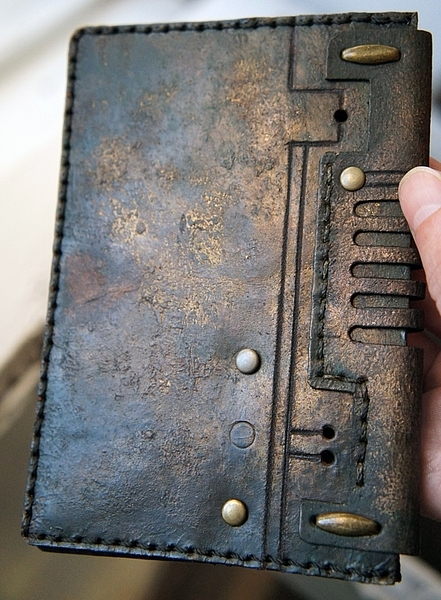 Мой стим - Steampunk -  обложка на паспорт, ремни