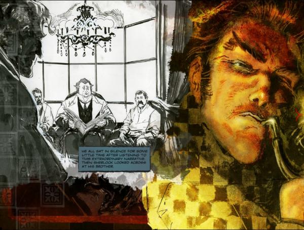 Шерлок Холмс и комиксы XXI века.