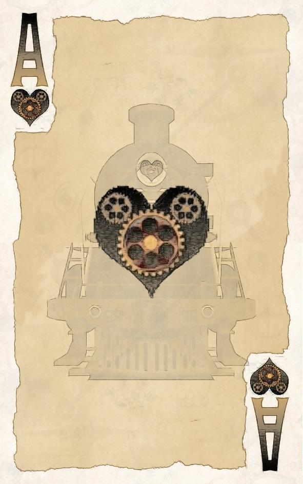 Стимпанк карты *Экспресс Kiev-Neverland*