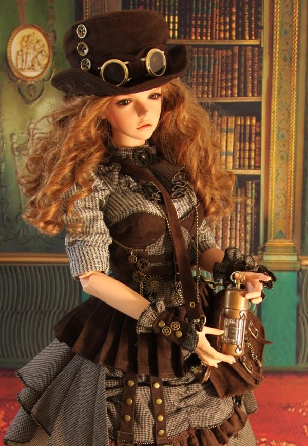 Кукла в стиле стимпанк