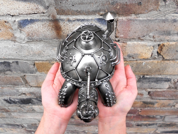 Гоночная паро-черепаха №7