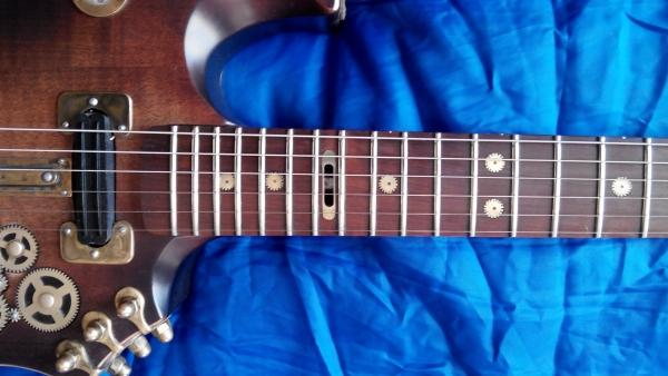 Стимпанк  гитара.