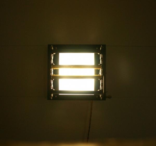 светильник-жалюзи