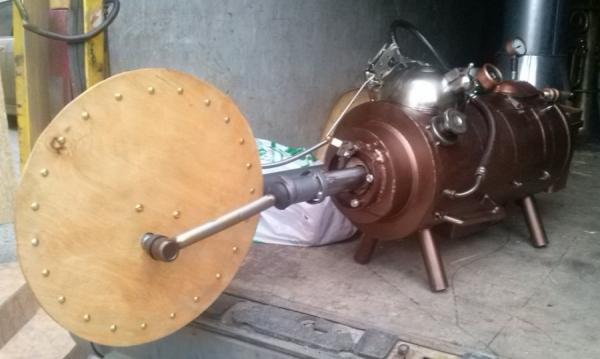 Паровой двигатель.