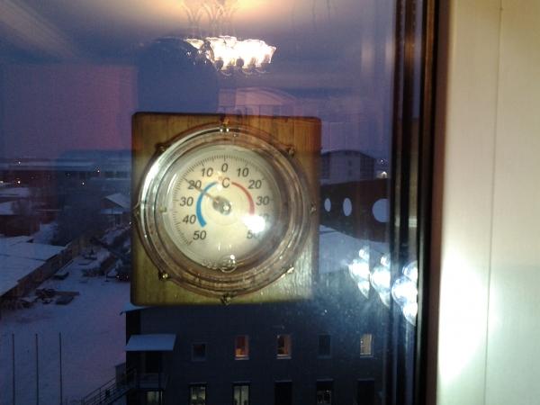 Уличный термометр. (Да просто градусник!) :)