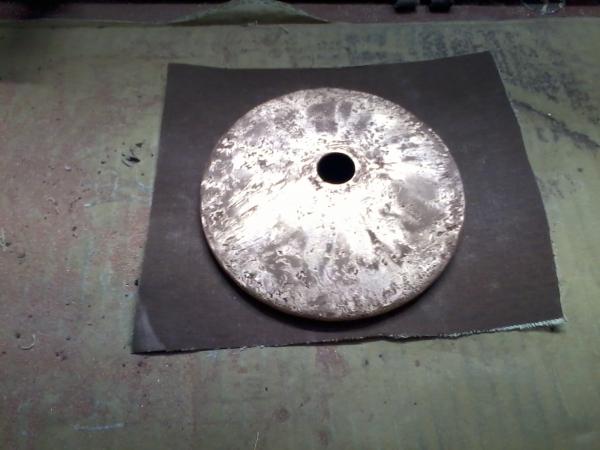 Восстановление корпуса наружного зеркала (первые слои меди - выравниваем поверхность, заращиваем сквозные отверстия)