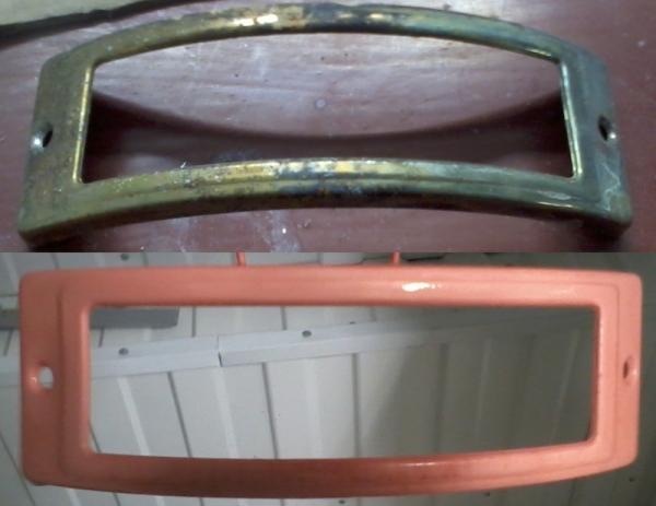 Реставрация, до и после.