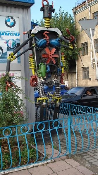 Гигантомания. Робот - трансформер