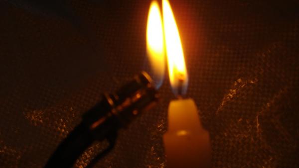 Свеча горела...