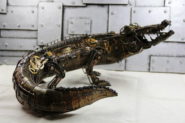 Болотный вездеход Крокодил