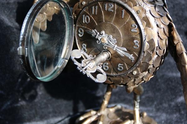 Ключ, рамка стекла кованные из стали.