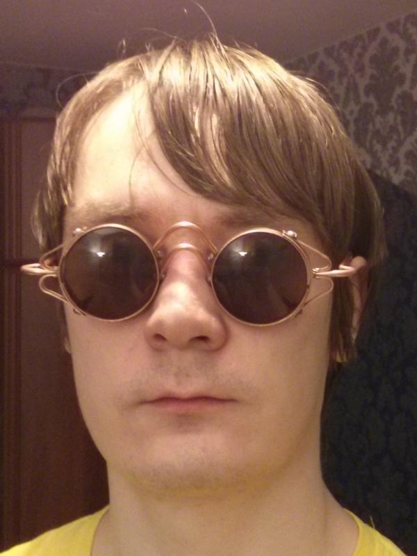Работа новичка - очки расхитительницы холодильника (рабочее название)