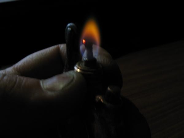 Бензиновая зажигалка ,,Масленка ,,