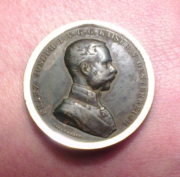 снятие патины с медных монети медалей...