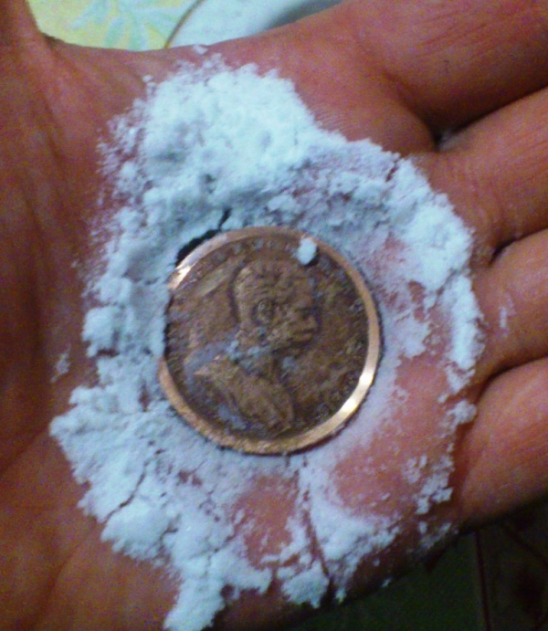 снятие патины с медных монет и медалей...