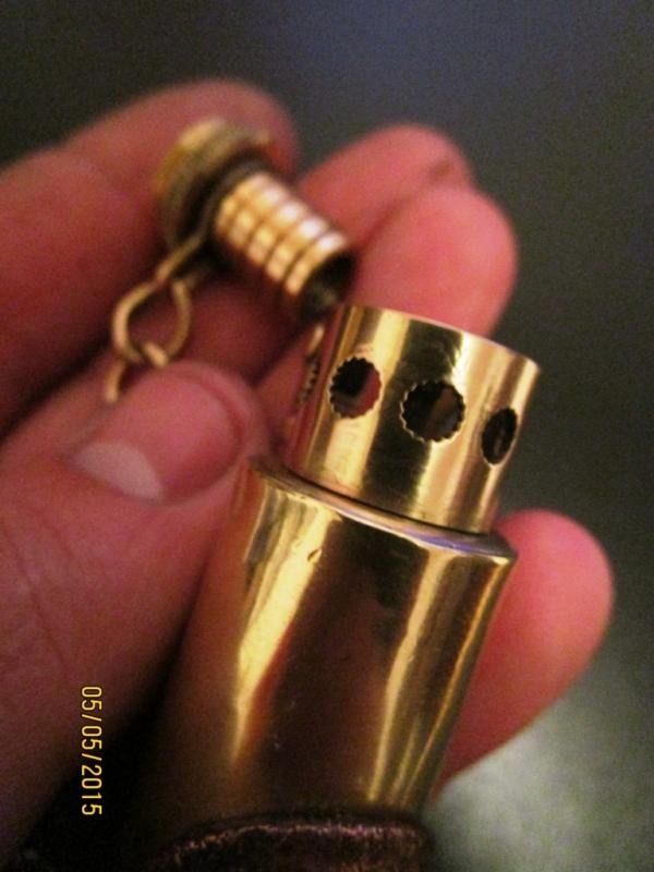 зажигалка из гильзы