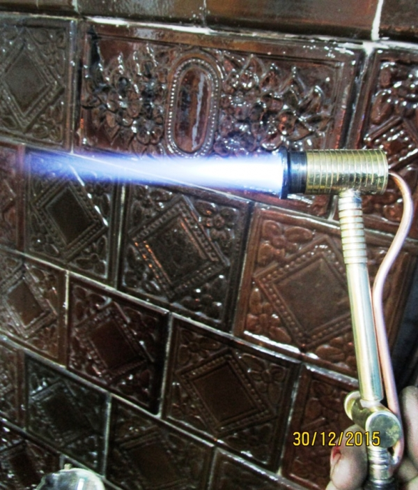горелка самодельная екстра сильная для плавки и пайки.