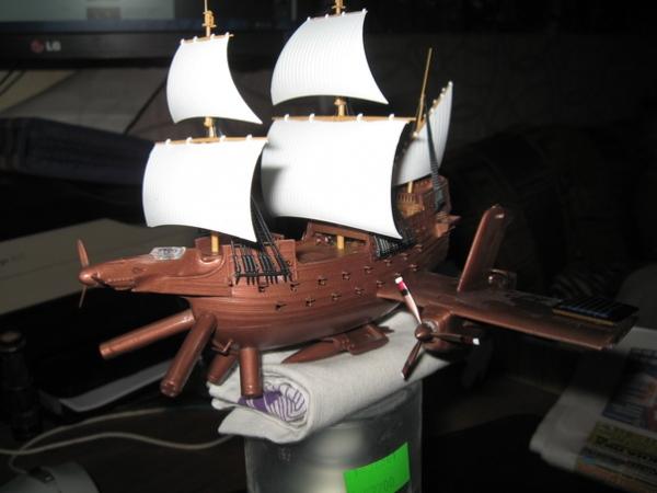 Крылатый кораблик.