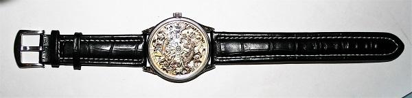 часы скелетон 6