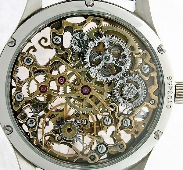 часы скелетон 3