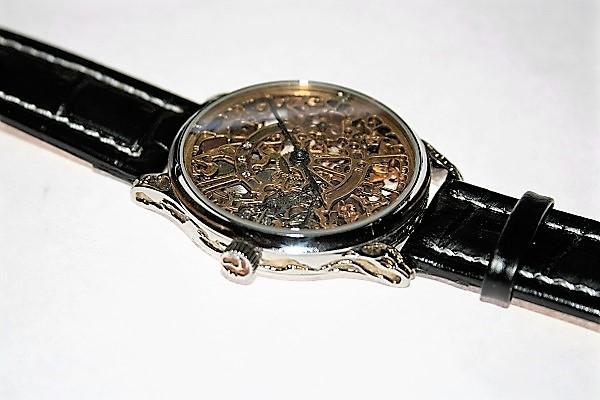 часы скелетон 5